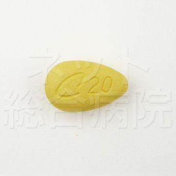 シアリス20mgの錠剤